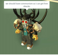 Party, Free, and Communism: we should have communism so i can get free  vbucks A Communist Party member in the U.S. tries to recruit others for the party (1932, colorized)