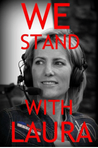 Do you stand with Laura Ingraham over the attacks against her by the left?: WE  STAND  WITH  LAURA Do you stand with Laura Ingraham over the attacks against her by the left?