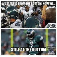 eaglessuck: WE STARTED, FROMTHE BOTTOM NOWWE...  DALLAS COWBOYS  STILLAT THE BOTTOM  INSTAGRAM eaglessuck