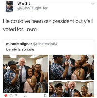 BERNIE IS TOO GOOD FOR US!!!! We don't deserve him 😭😭 | (Check link in bio!) funnyfriday funnytumblr tumblr funny tumblrtextpost funnytumblrtextpost funny haha humor hilarious berniesanders: We $t  @CjayyTaughtHer  He could've been our president but y'all  voted for...nvm  miracle aligner @ninatendo64  bernie is so cute BERNIE IS TOO GOOD FOR US!!!! We don't deserve him 😭😭 | (Check link in bio!) funnyfriday funnytumblr tumblr funny tumblrtextpost funnytumblrtextpost funny haha humor hilarious berniesanders