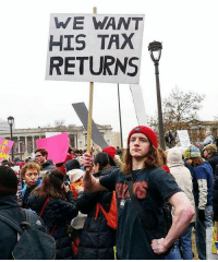 Cough em up cheeto 👇 taxseason In light of recent statements... strikeapose Repost @ajmonzo ----- womensmarch womensmarchphilly womensmarchonphiladelphia millionwomenmarch solidarity equalrights herstory proud peacefulprotest igers_philly igers instalike instagood photooftheday TravelerMarches tax taxes: WE WANT  HIS TAX  RETURNS Cough em up cheeto 👇 taxseason In light of recent statements... strikeapose Repost @ajmonzo ----- womensmarch womensmarchphilly womensmarchonphiladelphia millionwomenmarch solidarity equalrights herstory proud peacefulprotest igers_philly igers instalike instagood photooftheday TravelerMarches tax taxes