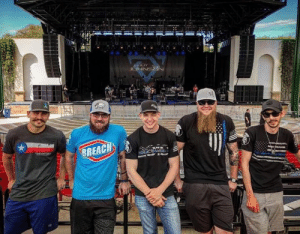 Respect, Band, and Them: We want to thank the Cody Johnson Band members for supporting first-responders and repping ReLEntless Defender. Now this is a band that demands respect. Go give them a like and tell them we sent ya.