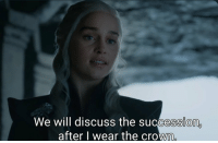 Memes, Free, and Information: We will discuss the succession,  after l wear the crown When a free trial asks for your credit card information https://t.co/yqflKQziuQ