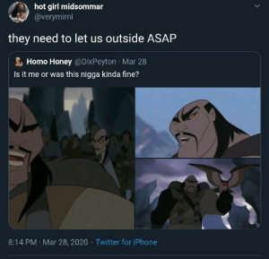 We will have to Shan Yu.. (via /r/BlackPeopleTwitter): We will have to Shan Yu.. (via /r/BlackPeopleTwitter)