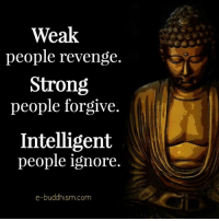 Memes, Revenge, and Strong: Weak  people revenge.  Strong  people forgive.  Intelligent  people ignore.  e-buddhism com