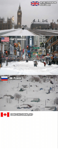 Tumblr, Winter, and Blog: WEARE EXPERIENCING  THATSADORABLE  W 52 St  OH, PLEASE epicjohndoe:  Winter Season Around The World
