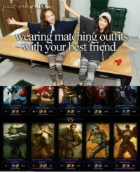 #squadgoals  = LeagueMemes =  Wingolos www.youtube.com/c/wingolos: Wearing matching outfits  with your best friend  Augmented S  VS  Commando Lua #squadgoals  = LeagueMemes =  Wingolos www.youtube.com/c/wingolos