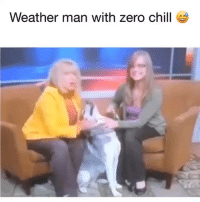 Chill, Homie, and Memes: Weather man with zero chill Damn, homie is smooth as fuuuuuck. 😭😭😭 firedsofired