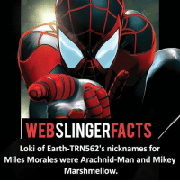 ▲▲ - What great names! - My other IG accounts @factsofflash @yourpoketrivia @facts_of_heroes ⠀⠀⠀⠀⠀⠀⠀⠀⠀⠀⠀⠀⠀⠀⠀⠀⠀⠀⠀⠀⠀⠀⠀⠀⠀⠀⠀⠀⠀⠀⠀⠀⠀⠀⠀⠀ ⠀⠀----------------------- spiderman peterparker tomholland marvelfacts spidermanfacts webslingerfacts venom carnage avengers xmen justiceleague marvel homecoming tobeymaguire andrewgarfield ironman spiderman2099 civilwar auntmay like gwenstacy maryjane deadpool miguelohara hobgoblin milesmorales like4like: WEB  SLINGER  FACTS  Loki of Earth-TRN562's nicknames for  Miles Morales were Arachnid-Man and Mikey  Marshmellow. ▲▲ - What great names! - My other IG accounts @factsofflash @yourpoketrivia @facts_of_heroes ⠀⠀⠀⠀⠀⠀⠀⠀⠀⠀⠀⠀⠀⠀⠀⠀⠀⠀⠀⠀⠀⠀⠀⠀⠀⠀⠀⠀⠀⠀⠀⠀⠀⠀⠀⠀ ⠀⠀----------------------- spiderman peterparker tomholland marvelfacts spidermanfacts webslingerfacts venom carnage avengers xmen justiceleague marvel homecoming tobeymaguire andrewgarfield ironman spiderman2099 civilwar auntmay like gwenstacy maryjane deadpool miguelohara hobgoblin milesmorales like4like