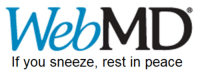 WebMD  If you sneeze, rest in peace