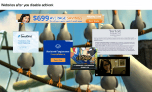 Life, Progressive, and Control: Websites after you disable adblock  PROGRESSIVE  $699 AVERAGE SAVINGS  for drivers who switch and save  Get a Quote  BOTOX  DX  COSMETIC  onabotulinumtoxinA  TWILIO  SendGrid  injection  help right away if you have any of these problems any time (hours to weeks) after injection of  BOTOX Cosmetic:  AdChoic X  Frustration-Free  LEGAL  Problems swallowing, speaking, or breathing, due to weakening of associated muscles, can  be severe and result  Email Marketing  loss of life. You are at the highest risk if these problems are pre-existing  before injection. Swallowing problems may last for several months.  Spread of toxin effects. The effect of botulinum toxin may affect areas away from the injection  site and cause serious symptoms including: loss of strength and all-over muscle weakness,  Xle vision, blurred vision and drooping eyelids, hoarseness or change or loss of voice,  le saying words clearly, loss  Cosmetic dosing units are not the same as, or comparable to, any other botulinum  Sign up for free  bladder control, trouble breathing, and trouble swallowing.  Accident Forgivene  ess  roduct.  from Allstate.  ae nat heen a mnfirmad eerinue caee nf enread of tovin effect whan BOTOY Coemetic has  LEAGUE  LEGENDS  Quote Now  DOWNLOAD+PLAY FOR FREE  ON MAC+PC Request: Adblock-blocker block