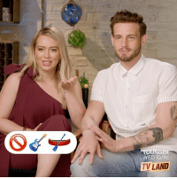 Can you guess these before they do? 😄@hilaryduff @nicotortorella @bollymernard @suttonlenore youngertv: WED 10/9c  TV LAND Can you guess these before they do? 😄@hilaryduff @nicotortorella @bollymernard @suttonlenore youngertv
