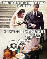 I now pronounce you Hungry and Food, you may eat the meal! Beautiful :'): WEDDING PHOTOGRAPHERSINOTHER  COUNTRIES  INDIAN WEDDING PHOTOGRAPHERS I now pronounce you Hungry and Food, you may eat the meal! Beautiful :')