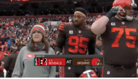"Memes, Bengals, and Browns: WEEK 16  6-8  BENGALS How does @myleslgarrett feel about @bakermayfield's play?   ""OOOH LA-LA!"" 😗👌 (via @NFLFilms) #NFLMicdUp #Browns https://t.co/AqH8lXNm77"