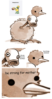 be strong for mother: Weepinduo  ben  clarence  do you  love me  brother  be strong for mother