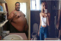 Funny, Weight Loss, and  Transformation: Weight Loss transformation