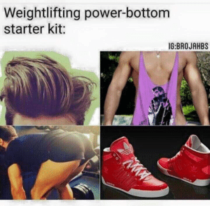 Gif, Omg, and Target: Weightlifting power-bottom  starter kit:  IG:BROJAHBS alreadyclaimednamefk: c-bassmeow:  omg this is  a personal attack on like 87% of the gays i know