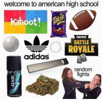 Facts lol: welcome to american high school  Oo  FORTNITE  the  BATTLE  ROVALE  adidas  random  fights  APOLLO Facts lol