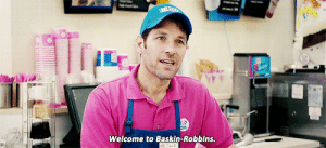 Tumblr, Baskin Robbins, and Blog: Welcome to Baskin-Robbins dagangstapenguin: The most realistic scene in any Marvel movie.