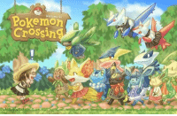 If Zelda can crossover with Animal Crossing...  Can we get Pokémon Crossing, please?  I'll give you all of my money, Nintendo! ~AwesomeAndo of Eevee's Family Life =Artist Credit in the comments= Check out Pokemon's Alola Region!: Welcome to  Crossin If Zelda can crossover with Animal Crossing...  Can we get Pokémon Crossing, please?  I'll give you all of my money, Nintendo! ~AwesomeAndo of Eevee's Family Life =Artist Credit in the comments= Check out Pokemon's Alola Region!