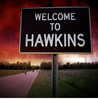 STRANGER THINGS SEASON 2 IM SO EXCITED 😭 https://t.co/za2ax8afBZ: WELCOME  TO  HAWKINS STRANGER THINGS SEASON 2 IM SO EXCITED 😭 https://t.co/za2ax8afBZ