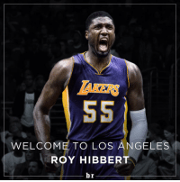 Sports, Angel, and Angels: WELCOME TO LOS ANGELES  ROY HIBBERT  br @royhibbert55 is the newest member of the @lakers! 🏀🏀🏀