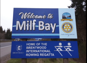 Where Kakyoin spends his vacations: Welcome to  Milf-Bay-  SOUTH  CHAMBER OF  COMMERCE  ROTARY  South Cowichan-Mill Bay  HOME OF THE  BRENTWOOD  INTERNATIONAL  ROWING REGATTA  BRENTWOOD Where Kakyoin spends his vacations