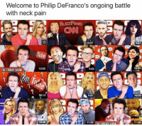 Dank Memes, Philips, and Battles: Welcome to Philip DeFranco's ongoing battle  with neck pain  13:47  9:41  12:06  13:03  9:03  THE FRIDAY SHOW  9:47  10:12  10:00  10:50  11:50  THE FRIDAY SHOW