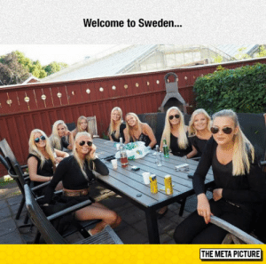 Tumblr, Blog, and Http: Welcome to Sweden..  THE META PICTURE srsfunny:Ctrl C, Ctrl V