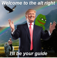Thank you Hillary for introducing new people to the alt right. This is where political correctness goes to die and memes are real.: Welcome to the alt right  I'll be your guide Thank you Hillary for introducing new people to the alt right. This is where political correctness goes to die and memes are real.