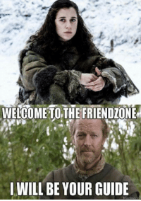 Meera Reed 😂 #GameOfThrones https://t.co/stmLHEi1Ne: WELCOME TOTHE FRIENDIONE  I WILL BE YOUR GUIDE Meera Reed 😂 #GameOfThrones https://t.co/stmLHEi1Ne