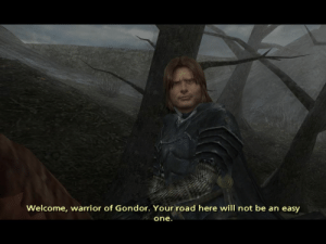 When you try to introduce The Third Age memes into the conversation on this sub: Welcome, warrior of Gondor. Your road here will not be an easy  one. When you try to introduce The Third Age memes into the conversation on this sub