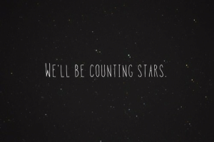 Stars, Well, and Counting Stars: WELL BE COUNTING STARS