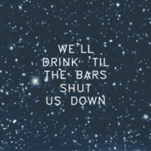Ass, Christmas, and Tumblr: WE'LL  DRINK TIL  THE-BARS , .  SHUT  US: DOWN baratkat:   All Time Low // Merry Christmas, Kiss My Ass