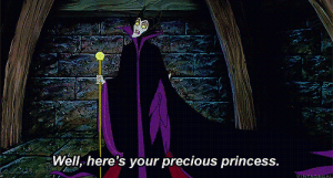 "punkrockluna: i always love this part because it means that maleficent had to be like ""haha ok i'm gonna cover her with my cape and when they go WHERE IS SHE i'll be like BOOM TADA"" : Well, here's your precious princess.  VINTACEGAL punkrockluna: i always love this part because it means that maleficent had to be like ""haha ok i'm gonna cover her with my cape and when they go WHERE IS SHE i'll be like BOOM TADA"""