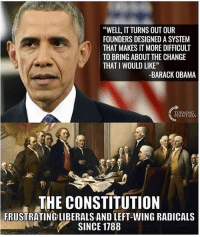 "Don't get it confused, the founders were considered classic liberals, but it would be downright disrespectful and repulsive to compare our founders to modern liberals. obamasucks liberaltears liberalismisamentaldisorder liberals libbys libtards liberallogic liberal ccw247 conservative constitution presidenttrump nobama stupidliberals merica america stupiddemocrats donaldtrump trump2016 patriot trump yeeyee presidentdonaldtrump draintheswamp makeamericagreatagain trumptrain maga Add me on Snapchat and get to know me. Don't be a stranger: thetypicallibby Partners: @tomorrowsconservatives 🇺🇸 @too_savage_for_democrats 🐍 @thelastgreatstand 🇺🇸 @always.right 🐘 TURN ON POST NOTIFICATIONS! Make sure to check out our joint Facebook - Right Wing Savages Joint Instagram - @rightwingsavages Joint Twitter - @wethreesavages Follow my backup page: @the_typical_liberal_backup: ""WELL, IT TURNS OUT OUR  FOUNDERS DESIGNED A SYSTEM  THAT MAKES T MORE DIFFICULT  TO BRING ABOUT THE CHANGE  THAT I WOULD LIKE""  -BARACK OBAMA  TURNIN  POINT USA  THE CONSTITUTION  FRUSTRATING LIBERALS AND LEFT-WING RADICALS  SINCE 1788 Don't get it confused, the founders were considered classic liberals, but it would be downright disrespectful and repulsive to compare our founders to modern liberals. obamasucks liberaltears liberalismisamentaldisorder liberals libbys libtards liberallogic liberal ccw247 conservative constitution presidenttrump nobama stupidliberals merica america stupiddemocrats donaldtrump trump2016 patriot trump yeeyee presidentdonaldtrump draintheswamp makeamericagreatagain trumptrain maga Add me on Snapchat and get to know me. Don't be a stranger: thetypicallibby Partners: @tomorrowsconservatives 🇺🇸 @too_savage_for_democrats 🐍 @thelastgreatstand 🇺🇸 @always.right 🐘 TURN ON POST NOTIFICATIONS! Make sure to check out our joint Facebook - Right Wing Savages Joint Instagram - @rightwingsavages Joint Twitter - @wethreesavages Follow my backup page: @the_typical_liberal_backup"
