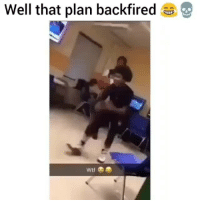 Liveleak, Memes, and Wtf: Well that plan backfired  Wtf Wtf clip of the day 😂💀- - - - - hood hoodmemes hoodclips funnyasf zerochill hilariousmemes cringememes liveleak bestmeme funnyaf triggeredmemes funnypost lmaomemes trynottolaugh funnymemes memedaily hoodcomedy lolz imweak memeunit funniest15seconds funnyvids jokes funnyvines funnyposts comedyposts funnyclips trapvine