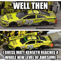 He did it twice.... Like are you kidding me??? Will it be 3??? 😂😂 nascar racing race stp500 mattkenseth awesome backwards lol funny nascarmemes likeitup follow followme: WELL THEN  DOLLAR GENERAL  @nascar memes  IGUESS MATT KENSETH REACHES A  WHOLE NEW LEVEL OFAWESOME  err He did it twice.... Like are you kidding me??? Will it be 3??? 😂😂 nascar racing race stp500 mattkenseth awesome backwards lol funny nascarmemes likeitup follow followme