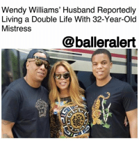 """Wendy Williams' Husband Reportedly Living a Double Life With 32-Year-Old Mistress - blogged by @MsJennyb ⠀⠀⠀⠀⠀⠀⠀ ⠀⠀⠀⠀⠀⠀⠀ Daytime TV host WendyWilliams has found herself in the middle of a cheating scandal, as DailyMail TV exclusively reports that her husband has been leading a double life. ⠀⠀⠀⠀⠀⠀⠀ ⠀⠀⠀⠀⠀⠀⠀ After a year-long investigation into the matter, the publication revealed that 46-year-old Kevin Hunter has been in a secret longterm affair with a 32-year-old massage therapist. Apparently, Hunter has been splitting his time between his home and family with Williams and a secret home nine miles away that he purchased for his mistress, Sharina Hudson. ⠀⠀⠀⠀⠀⠀⠀ ⠀⠀⠀⠀⠀⠀⠀ While, Hunter, who manages the career of the rumor-driven TV host, is reportedly in love with both women. Williams denies the affair all together. """"One plus one does not equal three. This woman is a friend of Mr. Hunter but there is no """"there"""" there,"""" a spokesperson for Williams said. ⠀⠀⠀⠀⠀⠀⠀ ⠀⠀⠀⠀⠀⠀⠀ Just a few weeks ago, Williams was spotted on a romantic getaway with Hunter. However, days after he returned, he was photographed with Sharina. ⠀⠀⠀⠀⠀⠀⠀ ⠀⠀⠀⠀⠀⠀⠀ """"Kevin is with Sharina three or four times a week, often staying over,"""" a source said of the affair. """"They go to the gym together, they go out to restaurants together as if they're a normal couple. But then he goes home to Wendy as if everything is normal there, too. He's living a double life."""" ⠀⠀⠀⠀⠀⠀⠀ ⠀⠀⠀⠀⠀⠀⠀ """"Kevin loves Sharina just as much as he loves his wife so it's difficult for him to let go of either of them,"""" the source said. """"Sharina has put a lot of pressure on him to leave Wendy and he has made certain promises, but will he follow through?"""": Wendy Williams' Husband Reportedly  Living a Double Life With 32-Year-Old  Mistress  @balleralert Wendy Williams' Husband Reportedly Living a Double Life With 32-Year-Old Mistress - blogged by @MsJennyb ⠀⠀⠀⠀⠀⠀⠀ ⠀⠀⠀⠀⠀⠀⠀ Daytime TV host WendyWilliams has found herself in the middle of a cheating scan"""