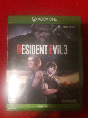 Went to 2 Walmarts and then decided to save my gas, so I called 2 other locations and finally I have copped a copy of Resident Evil 3! Their Last copy too!: Went to 2 Walmarts and then decided to save my gas, so I called 2 other locations and finally I have copped a copy of Resident Evil 3! Their Last copy too!