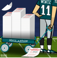 Philadelphia Eagles, Memes, and Best: WENTZ 11  APPLICATIO  APPLICATIO  WENTZAWAGON  OFFICIAL  BANDWAGON FAN  APPLICATION  TEAM EAGLES  History  -  CHECK  DOV With the best record in the league, spots are filling up fast in the @Eagles bandwagon.  Don't miss out! #FlyEaglesFly   (via @thecheckdown) https://t.co/578urz3MhW