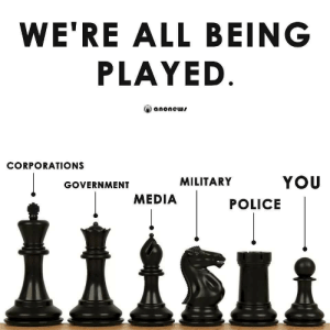 The game of life: WE'RE ALL BEING  PLAYED  anonews  CORPORATIONS  YOU  MILITARY  GOVERNMENT  MEDIA  POLICE The game of life