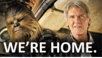 Friends, Home, and You: WE'RE HOME