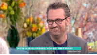Matthew Perry Talking about FRIENDS and the concern about doing a reunion show ❤💜 Matthew Perry: It was such a great job. We all loved each other so much and we all had such a wonderful time. I guess It would be nice to go back and do more cuz it was just so much fun. 💕 friends friendstvshow matthewperry: WERE MAKING FRIENDS WITH MATTHEW PERRY  #Matthew Perry Matthew Perry Talking about FRIENDS and the concern about doing a reunion show ❤💜 Matthew Perry: It was such a great job. We all loved each other so much and we all had such a wonderful time. I guess It would be nice to go back and do more cuz it was just so much fun. 💕 friends friendstvshow matthewperry