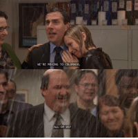 Colorado, Wholesome, and One: WE'RE MOVING TO COLORADO.  ALL OF US? This is one of the most wholesome lines in the whole show 3 Kevin