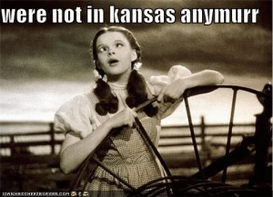 Durrrruthaaay - Cheezburger - Funny Memes | Funny Pictures: were not in kansas anymurr  ICANHASCHEE2EURGER cOM Durrrruthaaay - Cheezburger - Funny Memes | Funny Pictures