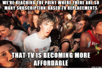 Hulu, Internet, and Netflix: WE'RE REACHING THE POINT WHERE THERE ARE SO  MANY SUBSCRIPTION BASED TV REPLACEMENTS  THAT TV IS BECO MING MORE  AFFORDABLE  made on imgur When I notice the cost to add TV to my Internet is less than Hulu+Netflix