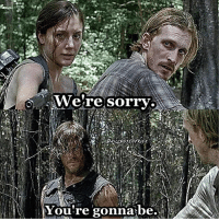 Will you ever forgive Dwight and sherry? TWD TheWalkingDead Dwight Sherry Daryl: Were Sorry  You're gonna be. Will you ever forgive Dwight and sherry? TWD TheWalkingDead Dwight Sherry Daryl