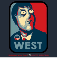 Batman, Family, and Family Guy: WEST  $14 Adam West Tees LINKED IN THE BIO! Afternoon Gothamites! LINKED IN THE BIO in my merch store you can buy Adam West and Batman '66 tees for JUST $14! I teamed up with @Teepublic to give everyone an opportunity to add something West to their collection at an affordable price! 📺🙏🏽 Celebrate the late icon by remembering his time as the Caped Crusader and other memorable characters such as Mayor West in Family Guy! 📺🙏🏽 All week select Adam West t-shirts are 30% OFF so pick up a tee today LINKED IN THE BIO! Thanks for following and we'll have more History of the Batman soon! RIPBatman✌🏼💙🦇🙏🏼