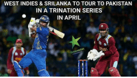 #kitty: WEST INDIES & SRILANKA TO TOUR TO PAKISTAN  IN A TRINATION SERIES  IN APRIL  Greenist #kitty